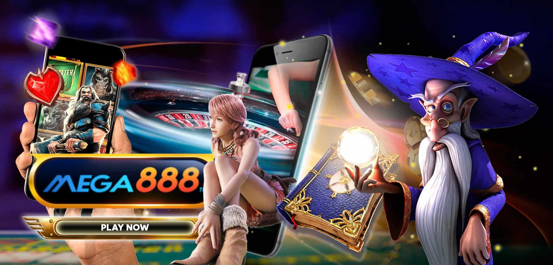 You will be able to see an extensive list of mega888 games available at this time