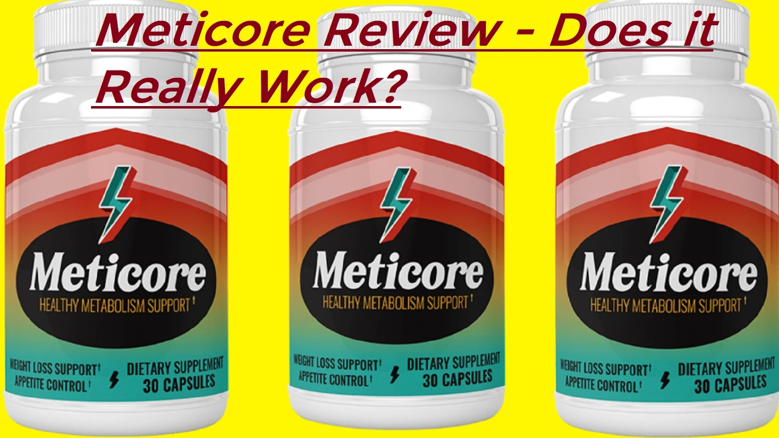 Do Not Go By Blind Faith, Check Meticore Reviews From Customers