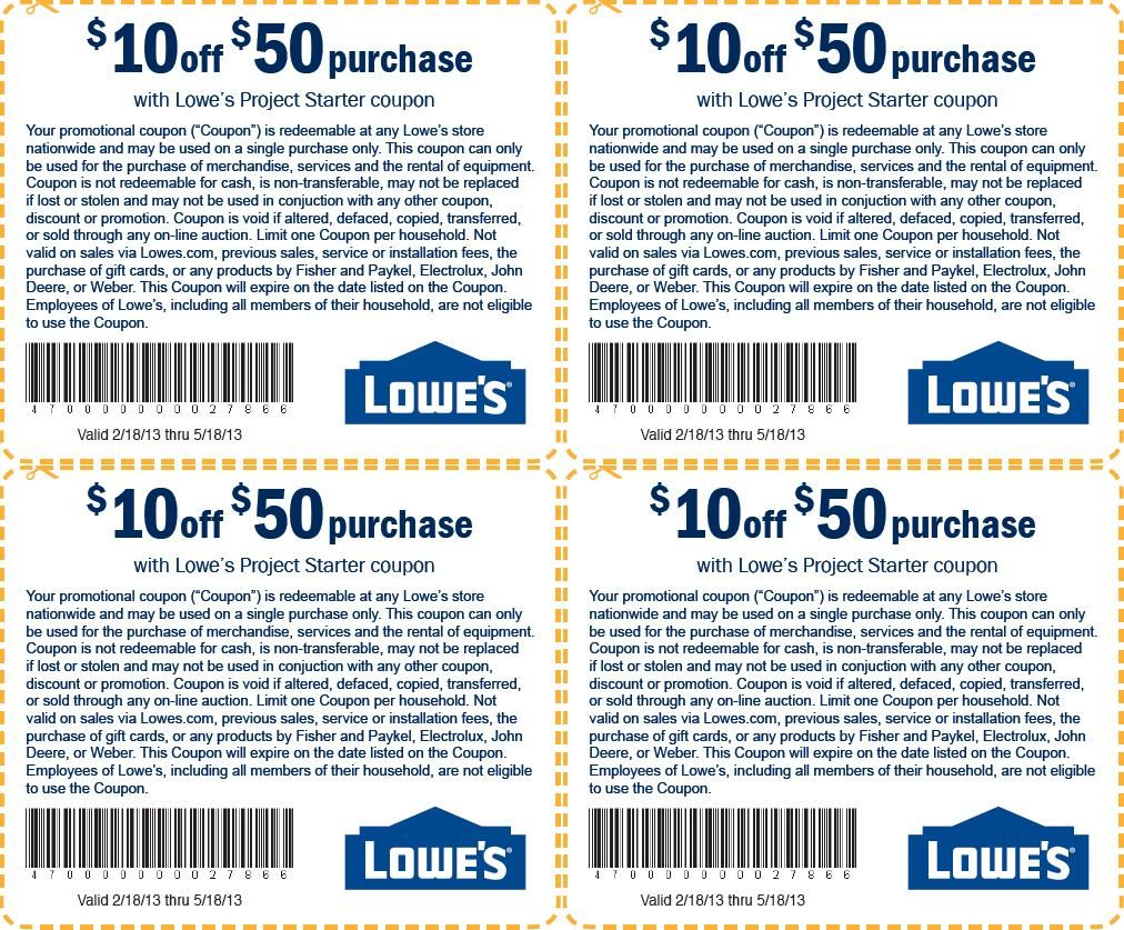 You will see that the lowes promo code will help you fulfill your dreams