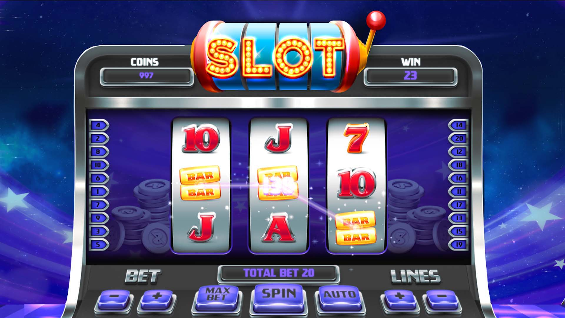 You will find various types of Slot Games (เกมส์สล็อต)