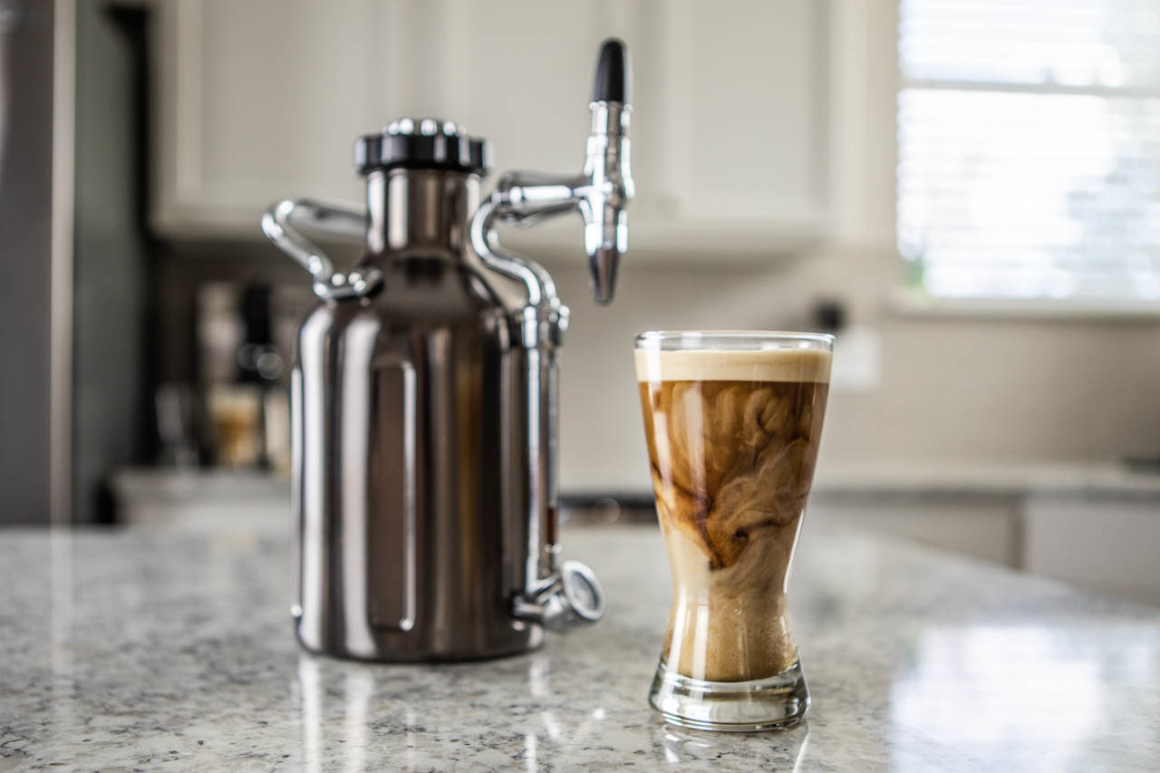 What are the features of nitro cold brew coffee?