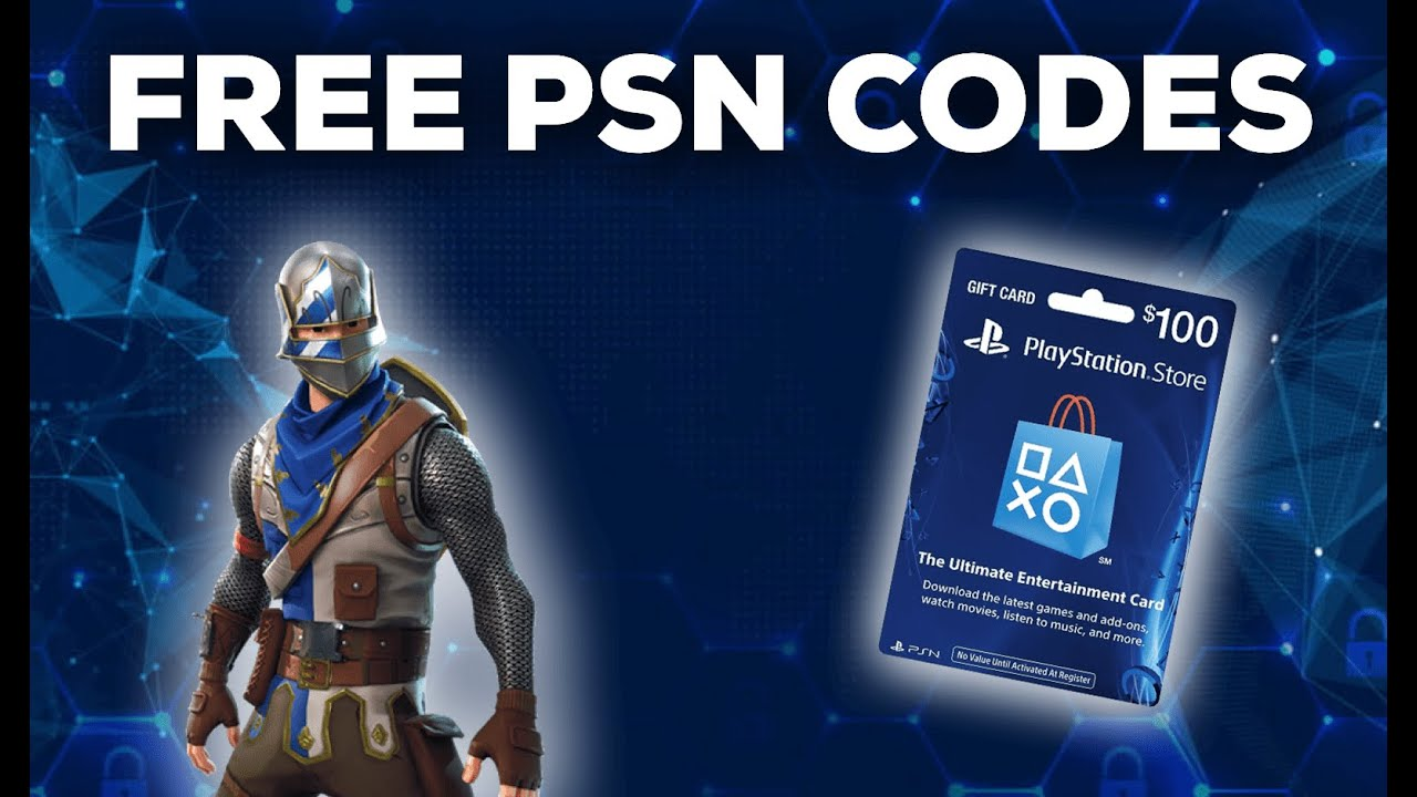 How To Get Free PSN Codes For Free