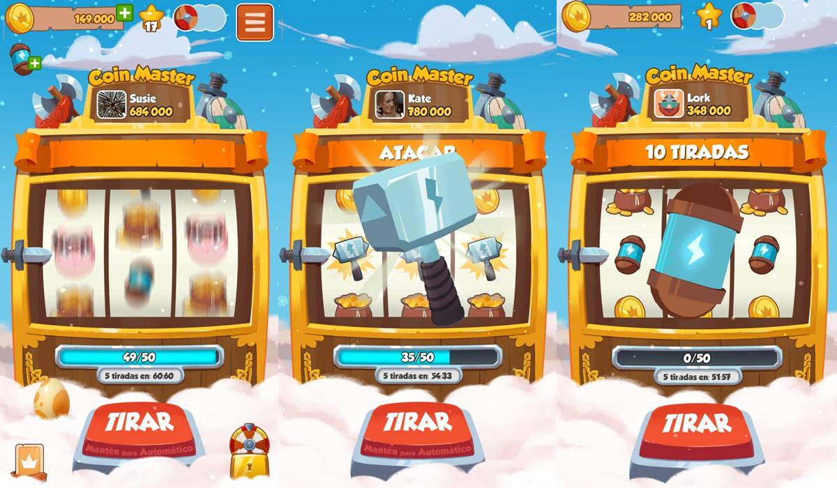 Get various items with coin master spins free (coin master spins gratis)
