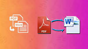 A perfect pdf to word converter with a great outlet on the market