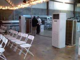 Find out what the air cooler rental consists of by contacting the best online service