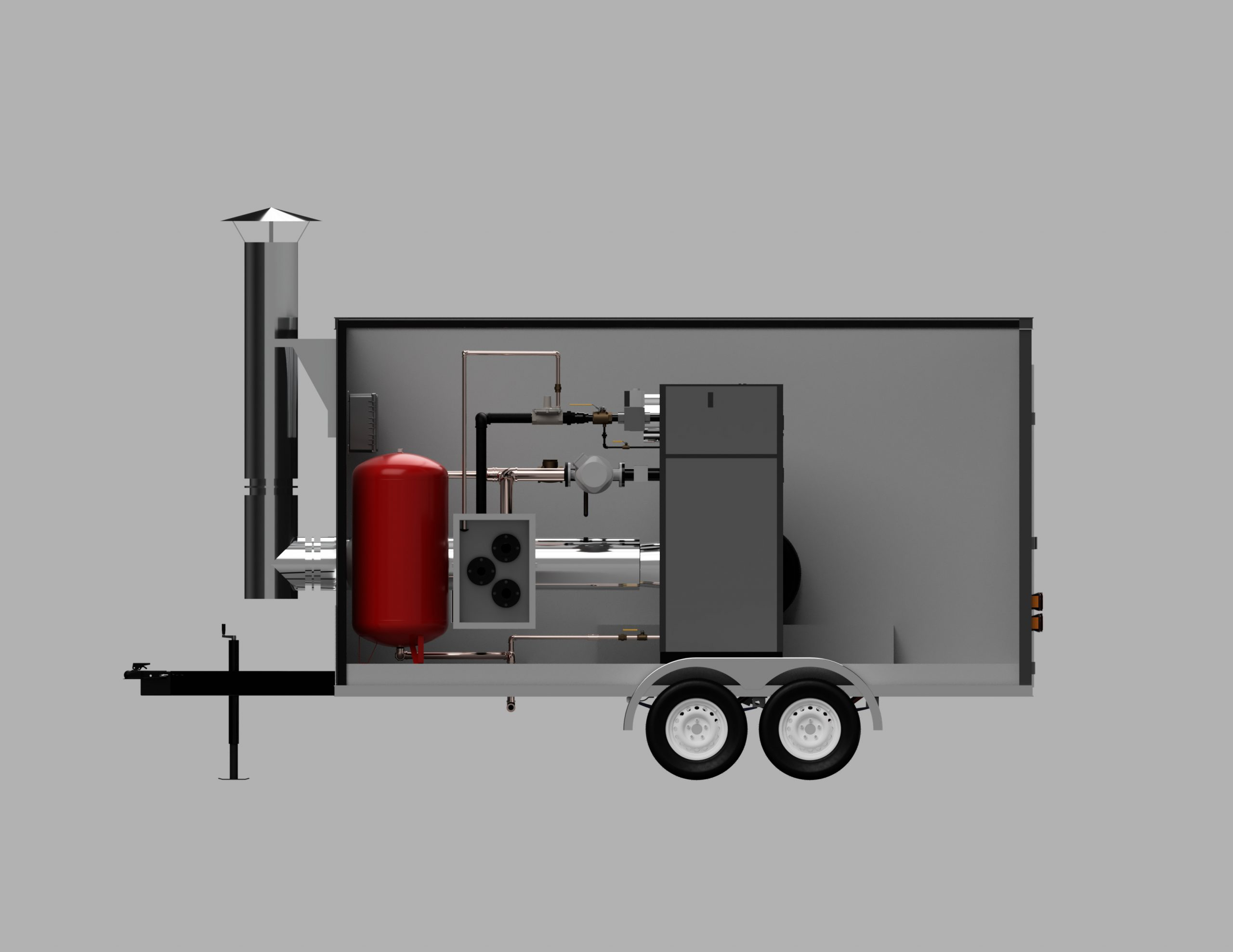 Know the steps of handling a boiler using various precautionary measures