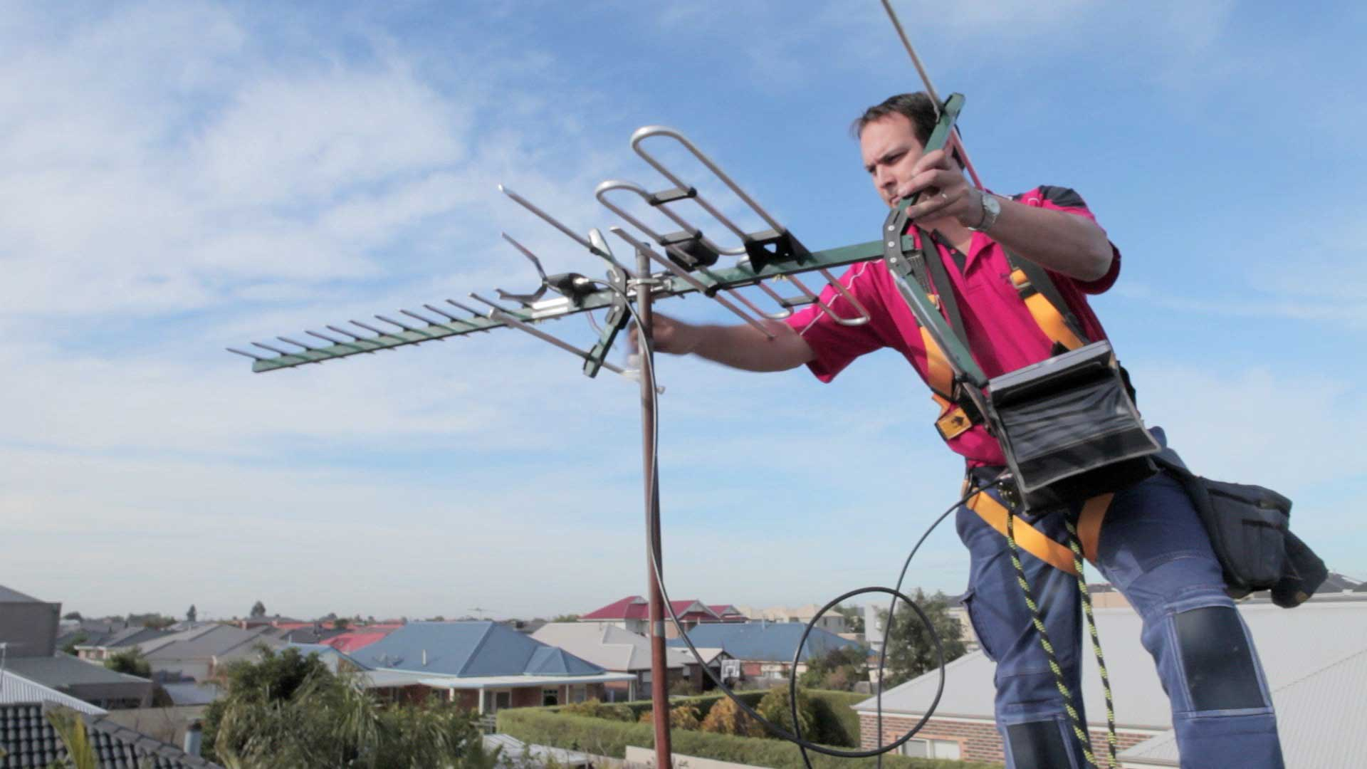 The best aerial installers guarantee the complete installation
